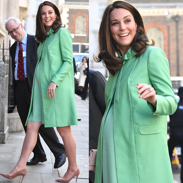 'Bầu bí' mặc gì để đẹp như Công nương Anh Kate Middleton?