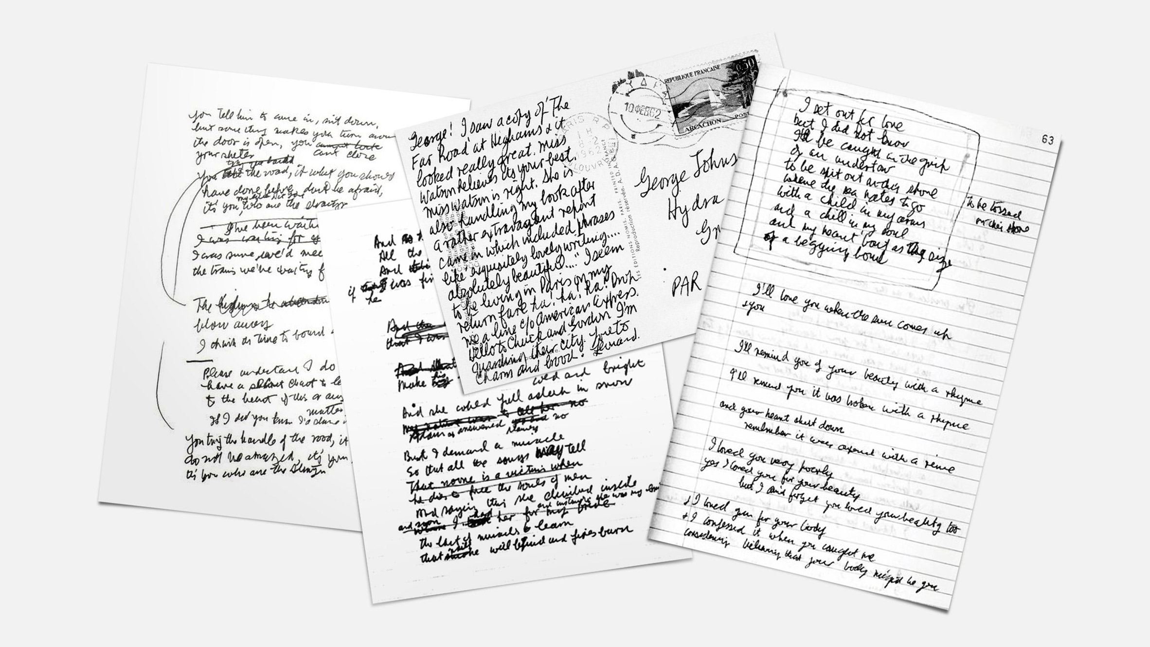 Chữ viết tay của Kurt Corbain, John Lennon, David Bowie được dùng làm font chữ miễn phí