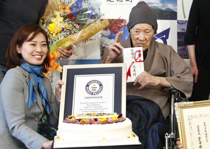 Những điều thú vị về cụ ông Nhật Bản 112 tuổi, người sống thọ nhất thế giới