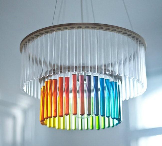 Những ý tưởng làm đèn chùm từ những vật liệu không ngờ đến