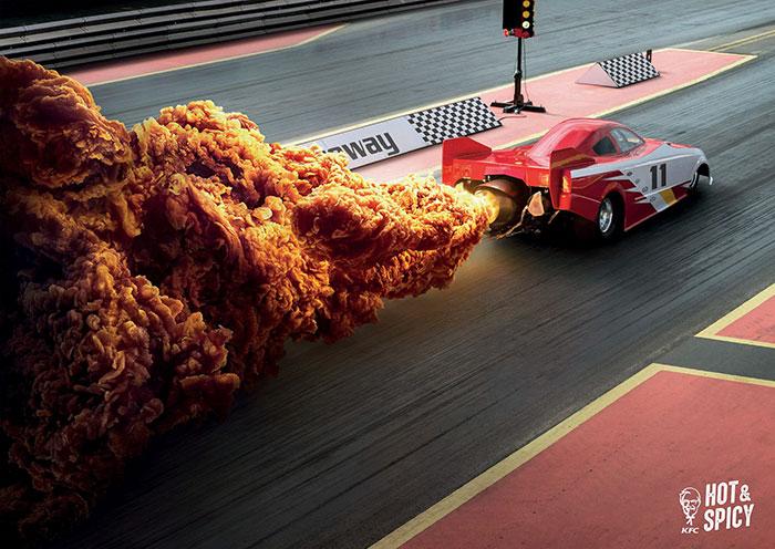 'Khói lửa gà rán': Đỉnh cao của sự sáng tạo trong quảng cáo mới nhất của KFC