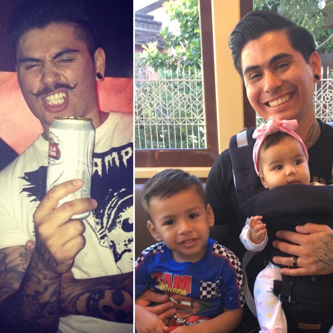 Chùm ảnh 'trước và sau khi có con' của các bậc phụ huynh vừa buồn cười vừa cảm động