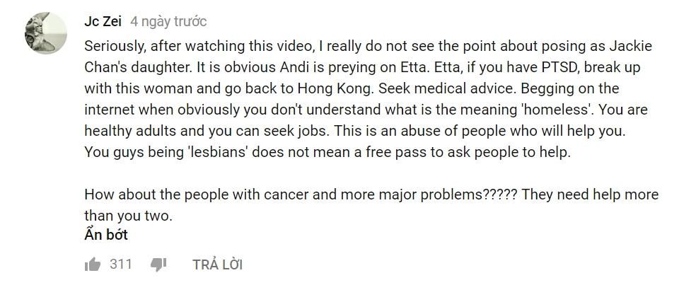 Con gái Thành Long đăng clip cầu xin giúp đỡ, dân mạng mắng mỏ chế nhạo