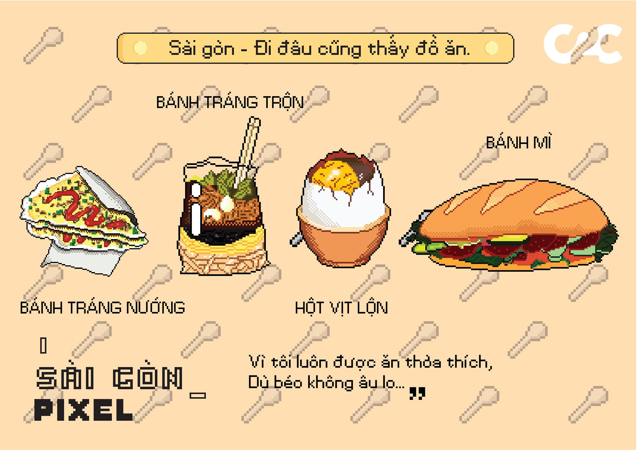 SÀI GÒN_PIXEL: Yêu lắm, thương lắm những điều bình dị giữa lòng Sài Gòn phồn hoa