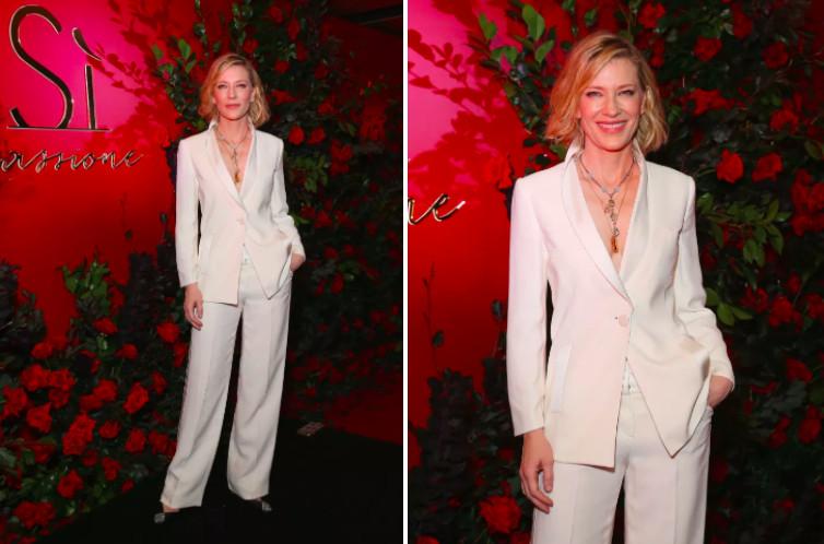 Ngắm Cate Blanchett mặc suit mới hiểu vì sao vẻ đẹp 'Nữ hoàng' vượt quá tầm hiểu biết của chúng ta