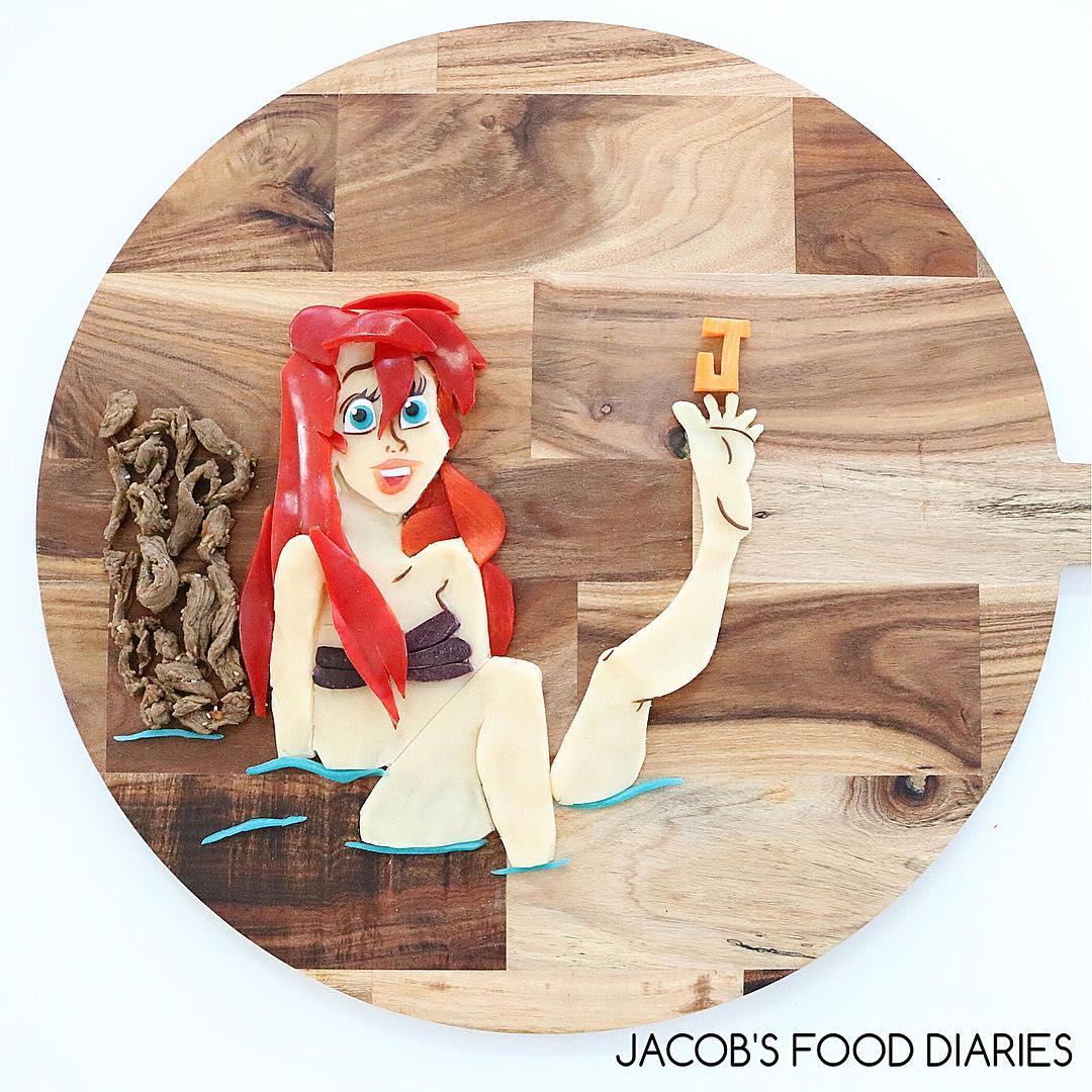 Mẹ bỉm sữa biến thức ăn thành các nhân vật hoạt hình để giúp con ăn uống lành mạnh hơn