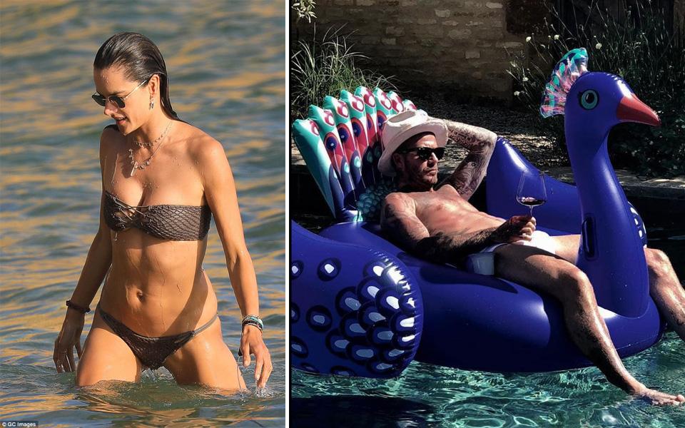 Sao Hollywood và những cách tận hưởng lạ đời giữa thời tiết nắng nóng kỷ lục ở Mỹ