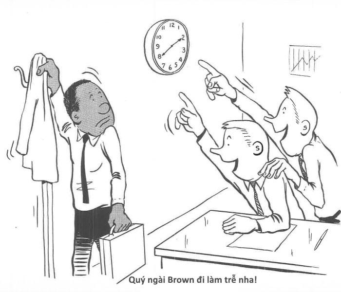 Truyện tranh dựa trên sự thật về người da đen duy nhất làm việc trong văn phòng da trắng thập niên 60