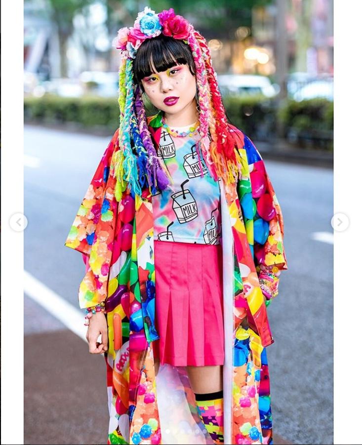 Năm 2018, vẫn phải 'choáng váng' vì phong cách thời trang độc-lạ-quái trên đường phố Nhật Bản
