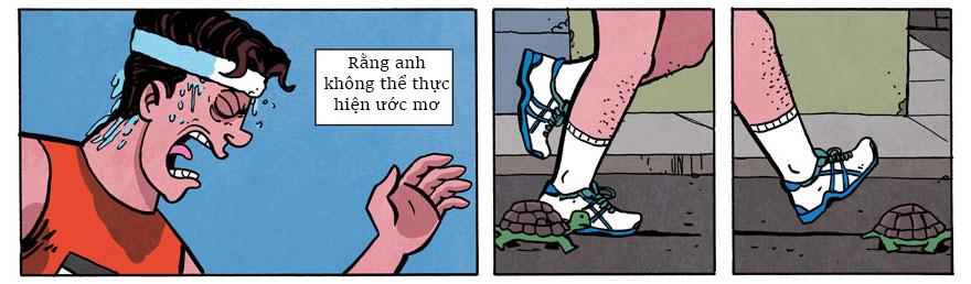 Ai đang vật vã với cuộc chiến giảm cân nhất định phải đọc bộ truyện tranh này hàng ngày