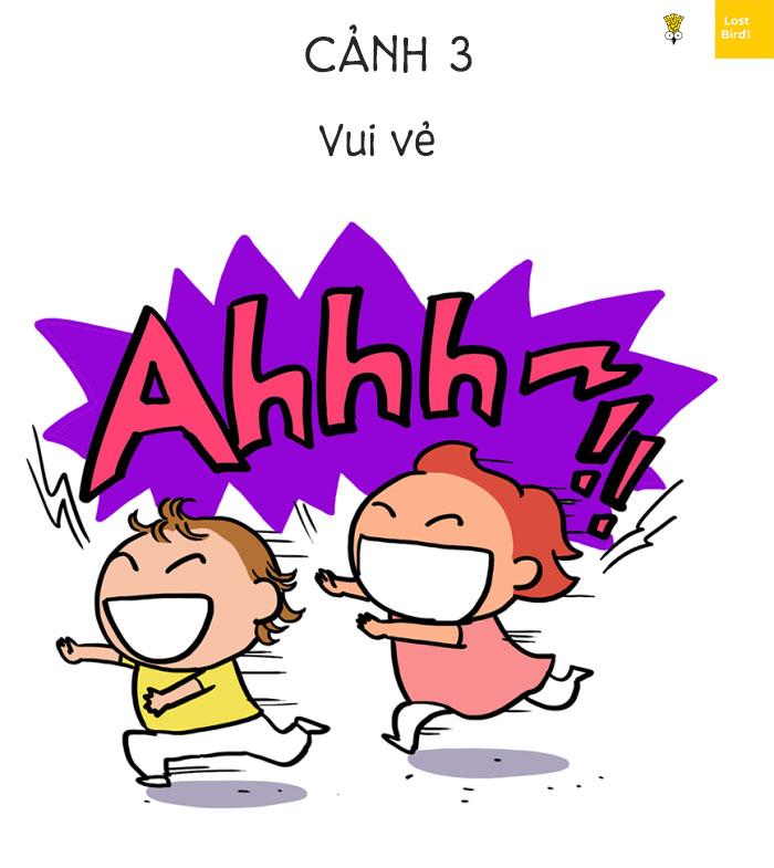 Bộ tranh hài hước: Trẻ con và những chiêu trò khiến các bậc phụ mẫu 'chết đi sống lại'