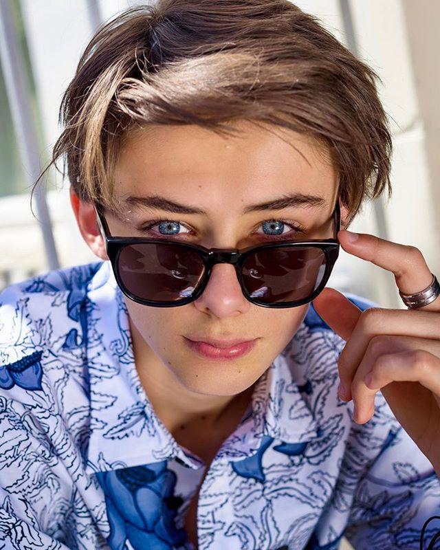 Chiêm ngưỡng nhan sắc cậu bạn được mệnh danh 'Đệ nhất mỹ thiếu niên thế giới'