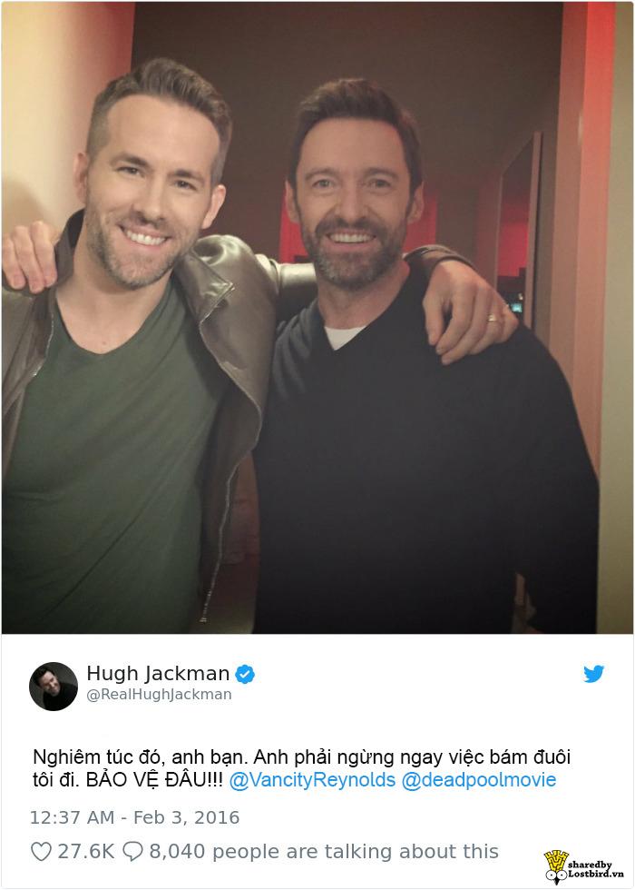 Ngoài đời, nam diễn viên Ryan Reynolds còn 'mặn mà' hơn cả gã dị nhân Deadpool