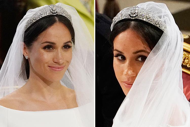 Công nương Meghan từng bị Nữ hoàng Elizabeth 'dằn mặt' vì vòi vĩnh ăn diện trong lễ cưới