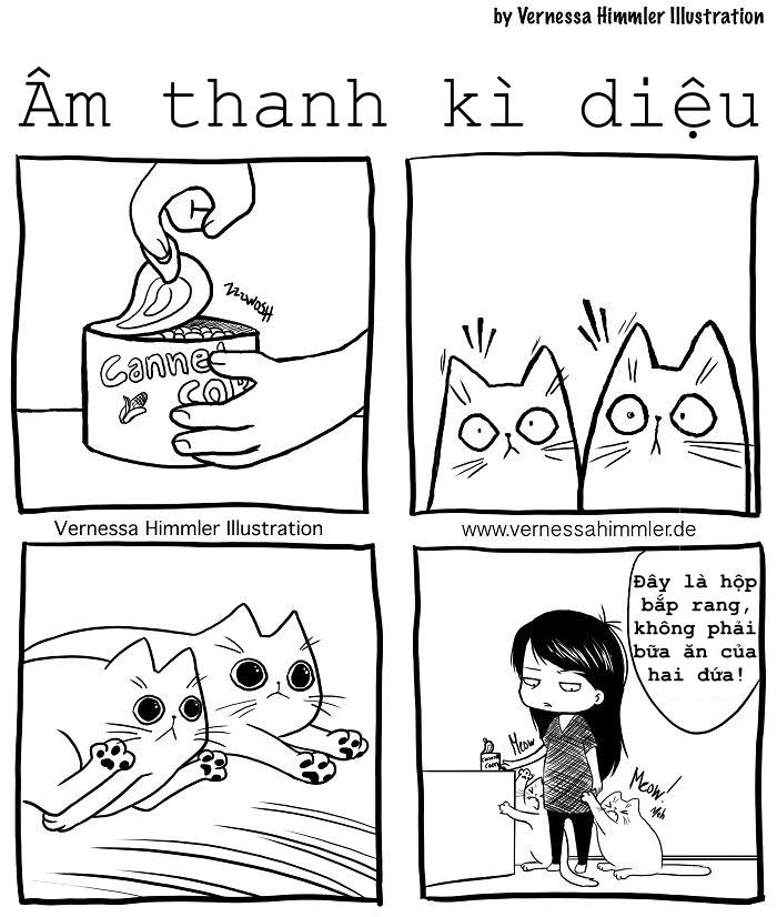 Bộ ảnh miêu tả chân thực cuộc sống của lũ mèo nhà bạn (P1)