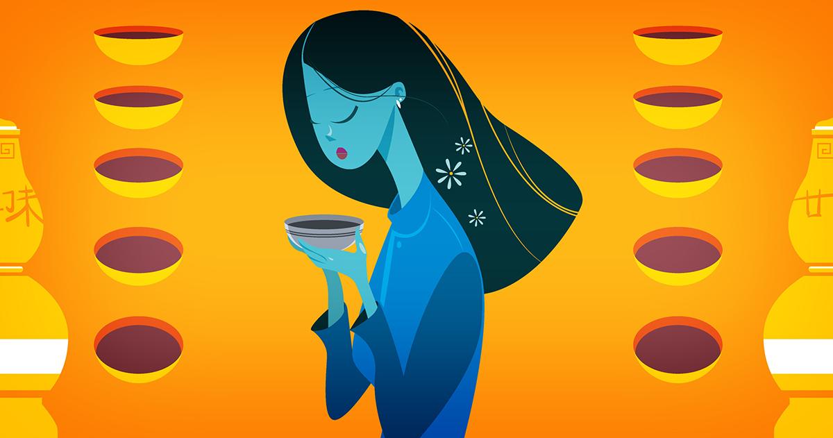 Khi tinh hoa ẩm thực châu Á tụ hội trong một chén trà thảo mộc