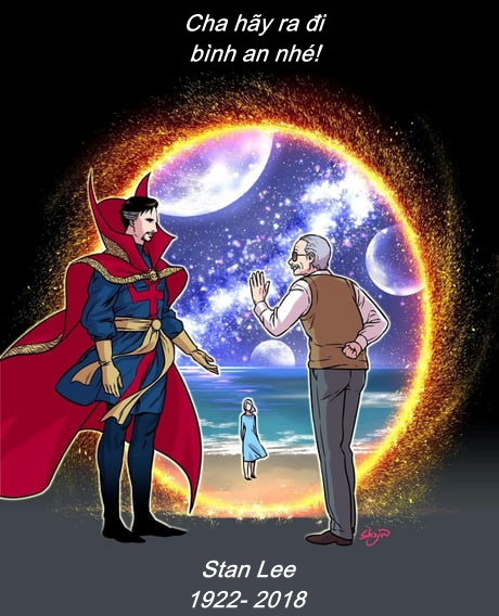 'Huyền thoại Marvel' Stan Lee qua nét vẽ của các họa sĩ trên khắp thế giới