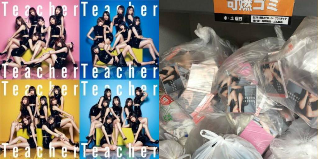 Bán được 2,5 triệu đĩa nhưng ngay sau đó, album của AKB48 liền được 'chuyển hộ khẩu' tới thùng rác
