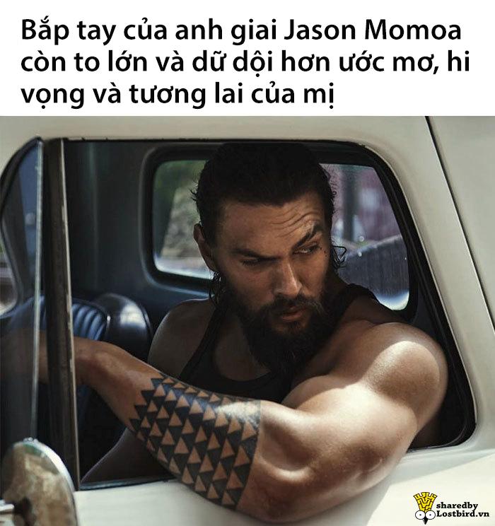 Hết Ryan Reynolds, Hollywood có thêm 'thánh lầy' mới là 'vua biển' Jason Momoa