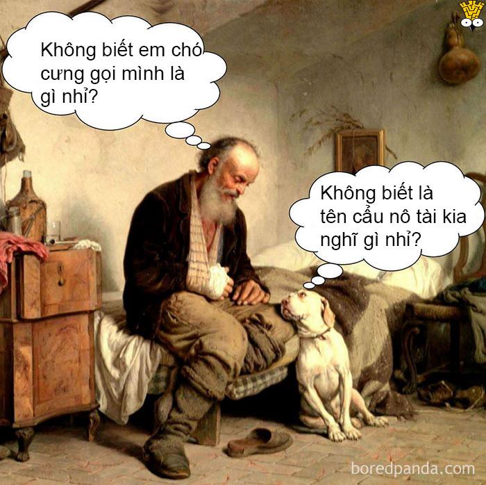 Tuyển tập meme tranh cổ điển: Học lịch sử mỹ thuật chưa bao giờ vui đến thế (Kỳ 2)