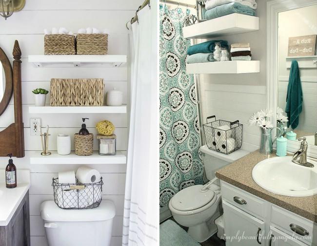 13 ý tưởng thông minh thiết kế nên một phòng tắm nhỏ xinh