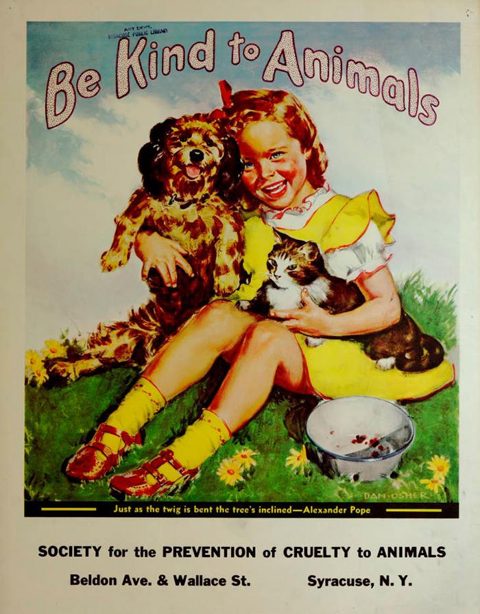 17 tấm poster kêu gọi bảo vệ động vật cực đẹp từ thời Đại khủng hoảng