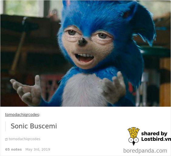 Fans ầm ầm phản đối tạo hình thảm hoạ của 'Sonic The Hedgehog' bằng loạt ảnh chế hài hước