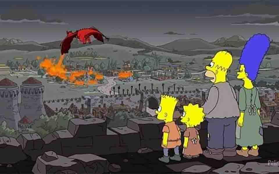 'The Simpsons' lại tiên đoán trúng phóc tập phim 'Game of Thrones' từ hai năm trước