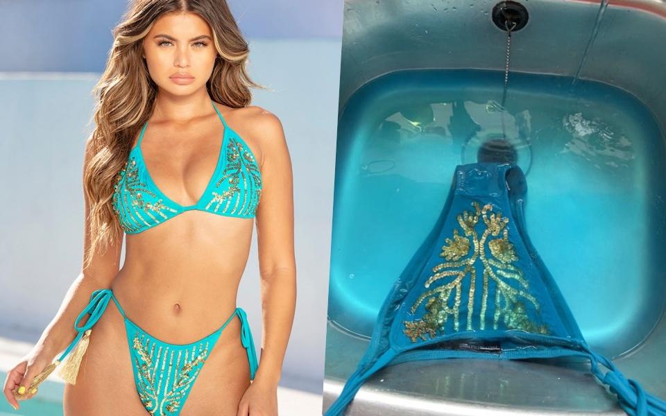 Mang tiếng bikini nhưng chỉ dùng để 'sống ảo', cửa hàng khuyến cáo không nên mặc đi tắm