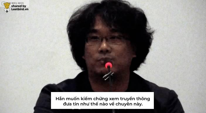 6 năm trước, đạo diễn 'Hồi Ức Kẻ Sát Nhân' từng ám chỉ kẻ giết người đã xuất hiện trong buổi họp báo?