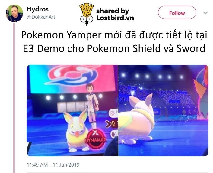 Mẫu Pokémon mới trông y chang Corgi với trái tim trên mông khiến dân tình điên đảo