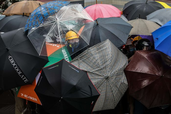 14 hình ảnh đẹp khiến thế giới thán phục trong cuộc biểu tình đang diễn ra ở Hồng Kông