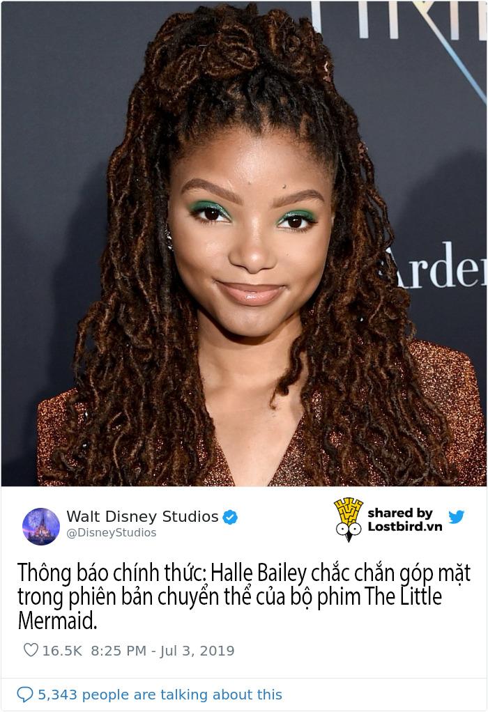 Không chấp nhận 'Ariel da màu', các fan 'Nàng Tiên Cá' dùng khoa học để đòi lại công bằng cho nàng