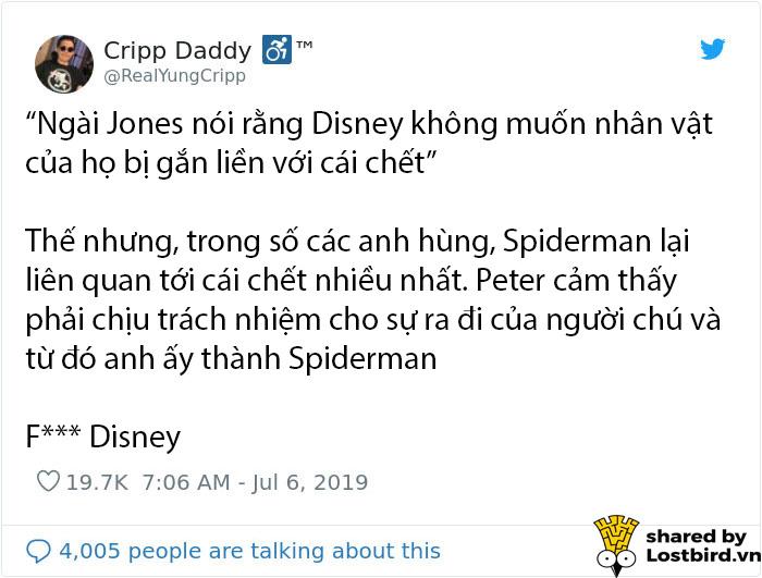 Disney không cho phép khắc hình Spider-Man lên bia mộ em bé 4 tuổi khiến nhiều người phản đối