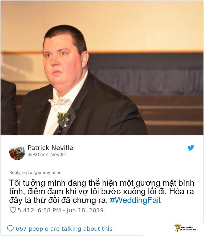 Dạo một vòng Twitter với #WeddingFail - thế giới vẫn luôn có những đám cưới hài hước, drama đến mức khó quên