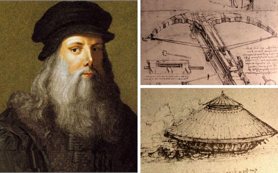 Leonardo da Vinci: Họa sĩ đại tài hay nhà phát minh sáng chế quân sự?
