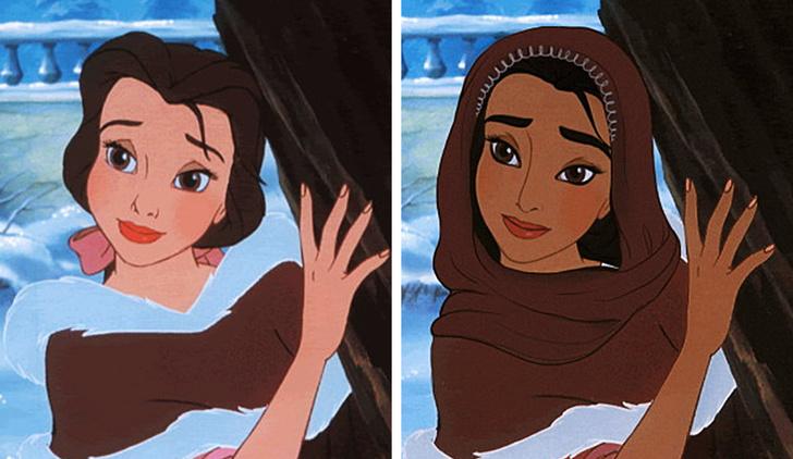 Thử đổi quốc tịch cho các nàng công chúa và kết quả thật thú vị