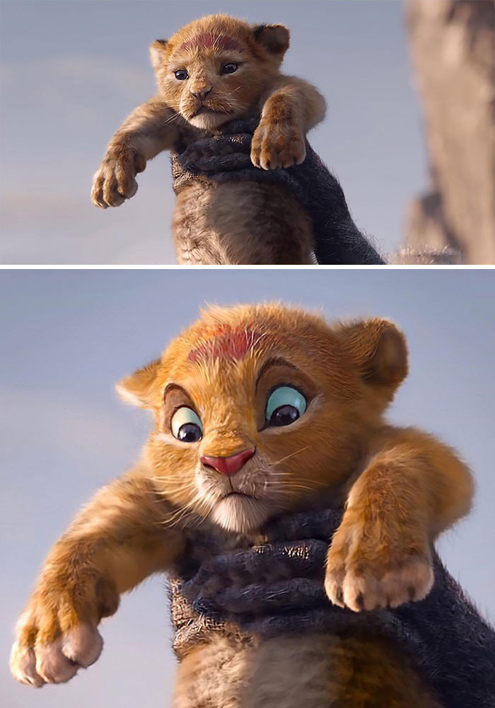 Những bức ảnh 'Vua Sư Tử' do fan edit còn chân thật nhìn mê hơn cả live action của Disney