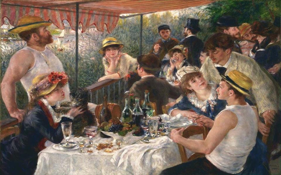 Thân phận 13 người khách bí ẩn trong 'Tiệc Trưa Trên Du Thuyền' - kiệt tác hội họa của nhân loại