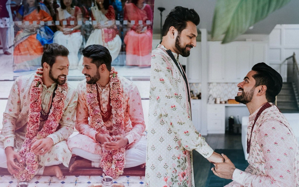 Cặp đôi đồng tính Ấn Độ vượt qua mọi rào cản, cùng tổ chức lễ cưới tại đền thờ Hindu