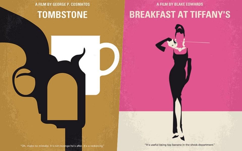 Vẻ đẹp vượt thời gian của những poster phim theo phong cách tối giản