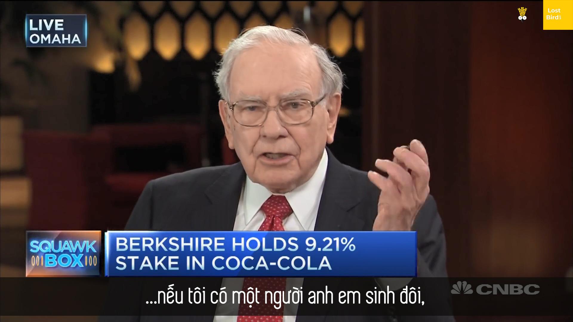 Bí kíp sống lâu của tỷ phú Warren Buffett: Sương sương 5 lon coca mỗi ngày chứ mấy!