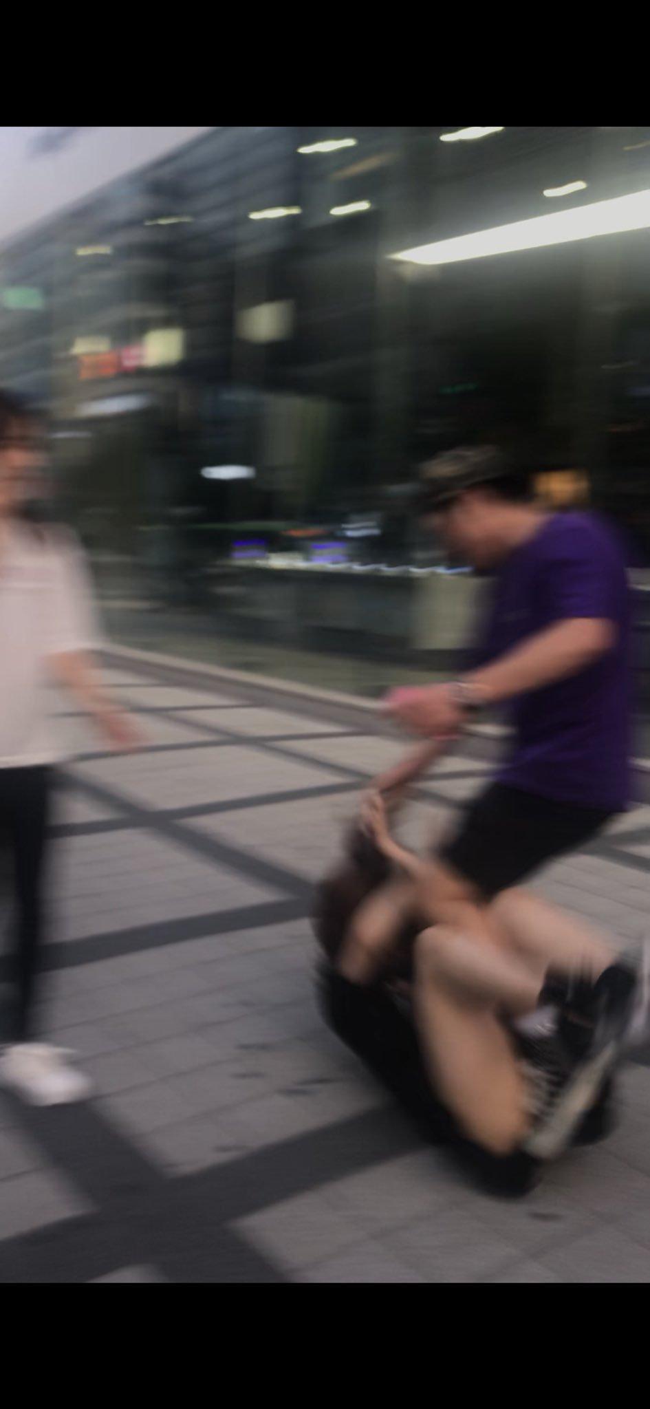 Phớt lờ lời tán tỉnh, nữ idol người Nhật bị trai Hàn hành hung dã man ngay giữa đường phố Seoul