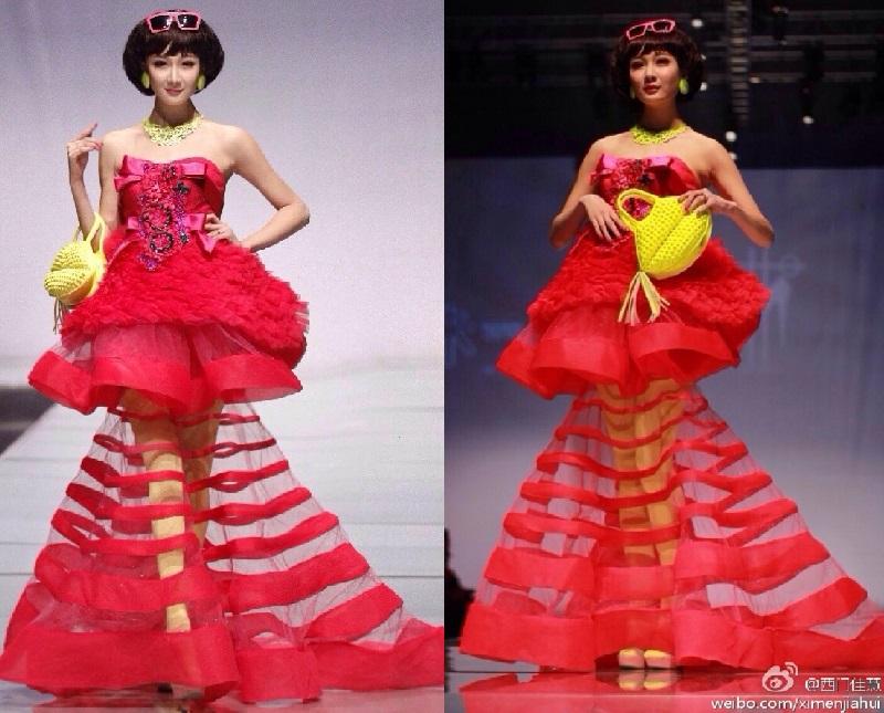 Nữ sĩ quan đẹp nhất Trung Quốc hóa ra đã từng là người mẫu nội y
