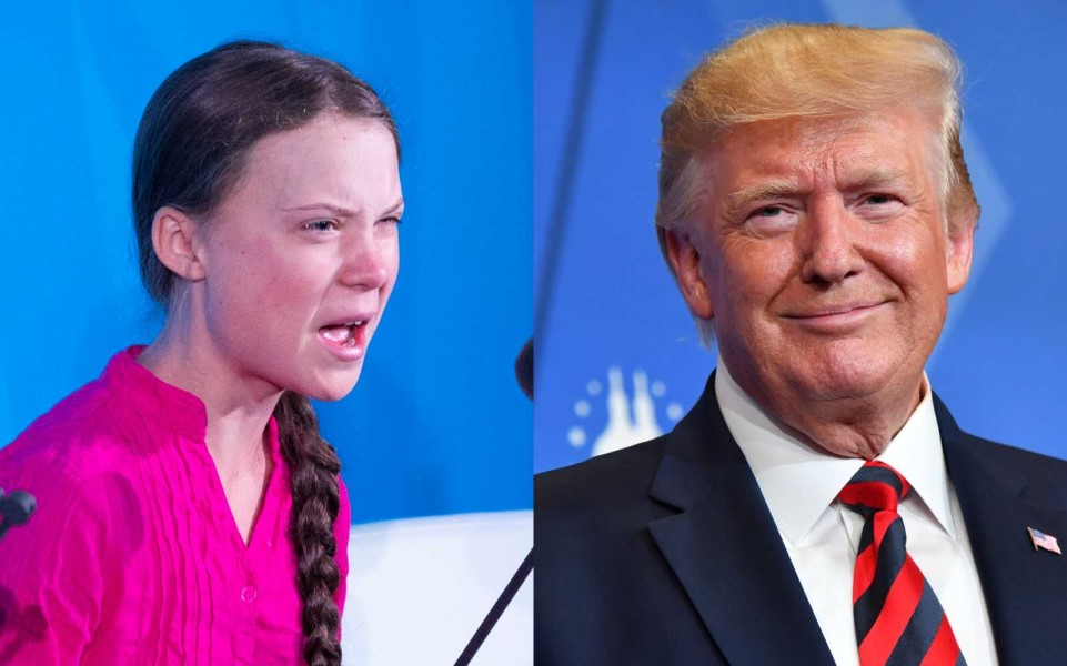 Tổng thống Trump 'cà khịa' nhà hoạt động môi trường trẻ tuổi Greta Thunberg sau hội nghị thượng đỉnh Liên Hợp Quốc