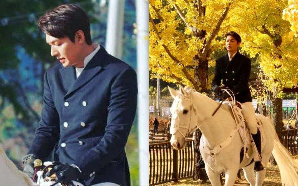 Lee Min Ho cưỡi bạch mã, tỏa sáng như hoàng tử khiến người qua đường ngẩn ngơ ngắm nhìn