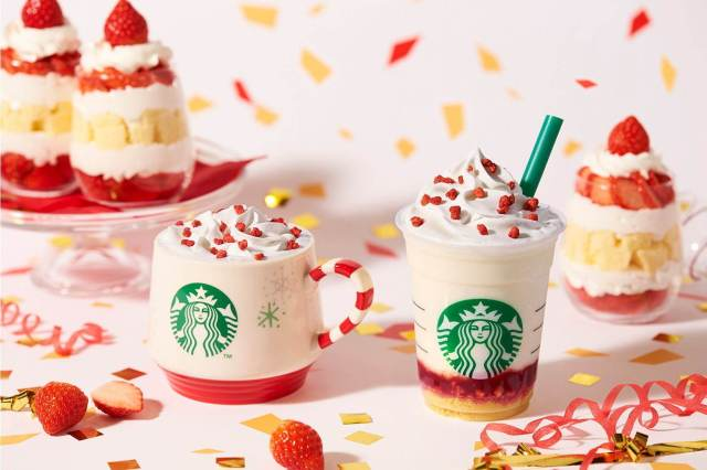 Starbucks Nhật Bản tung thức uống mới và ly tách phiên bản giới hạn cho Giáng sinh năm 2019