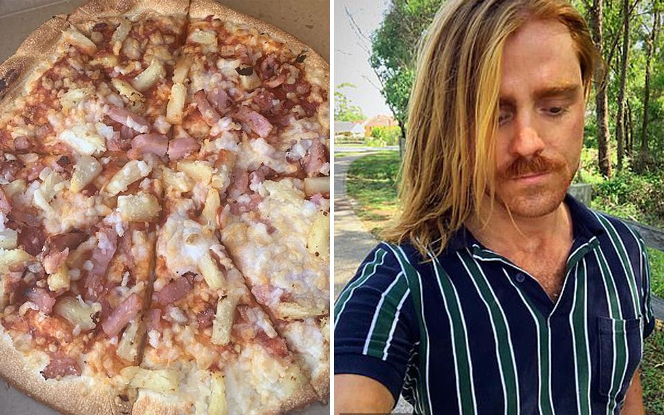 Người đàn ông thuần chay tức giận khi bị Domino's cho giăm bông thịt vào món pizza chay của mình
