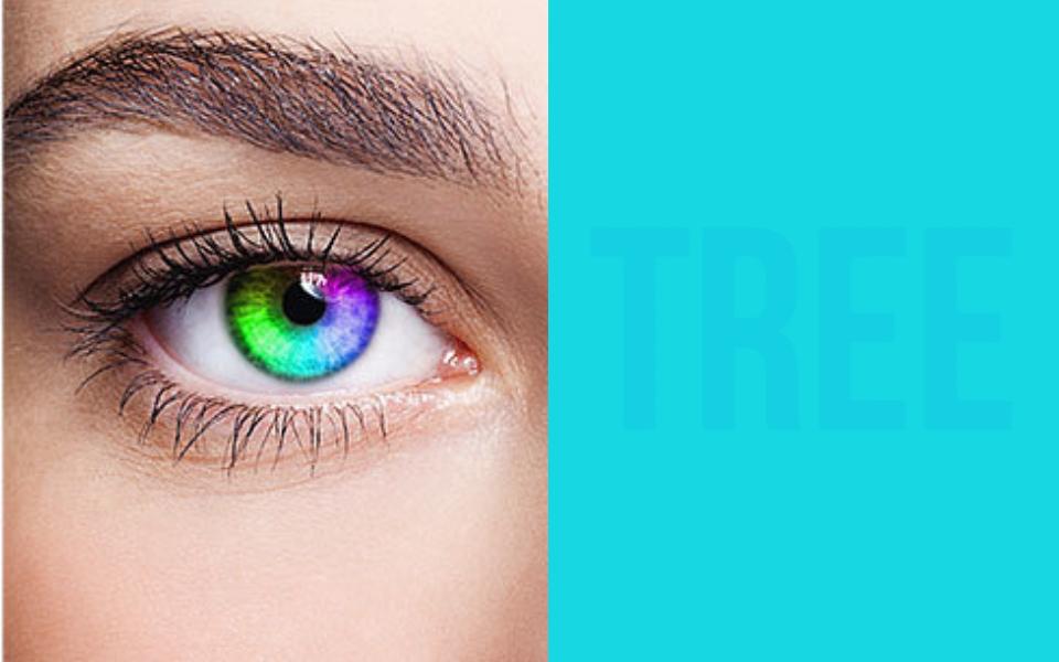 Bài test thị giác cực khó của dân Hàn: Chỉ ai có nhận thức hoàn hảo về màu sắc mới thấy hết 8 chữ cái này