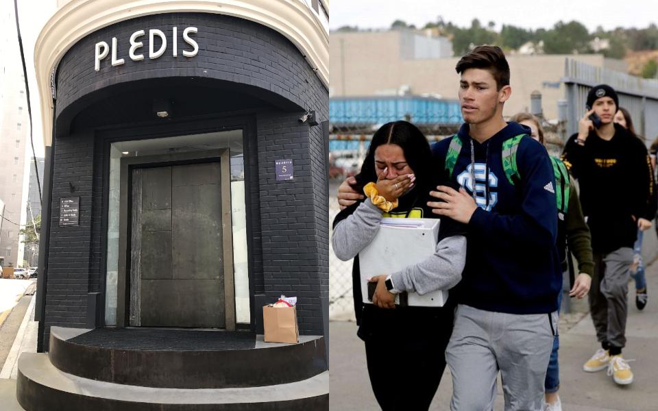 Tin cựu thần tượng nhà Pledis thoát chết khỏi vụ xả súng ở Mỹ khiến dân Hàn hoảng hốt